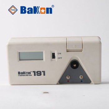 Soldering iron thermometer