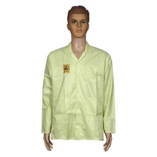 ESD Apron, Yellow