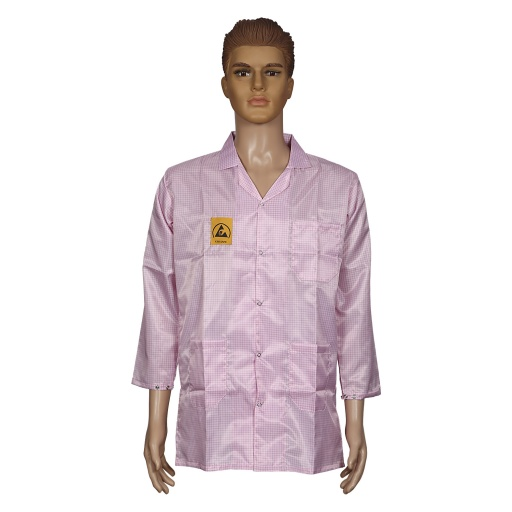 ESD Apron, Pink