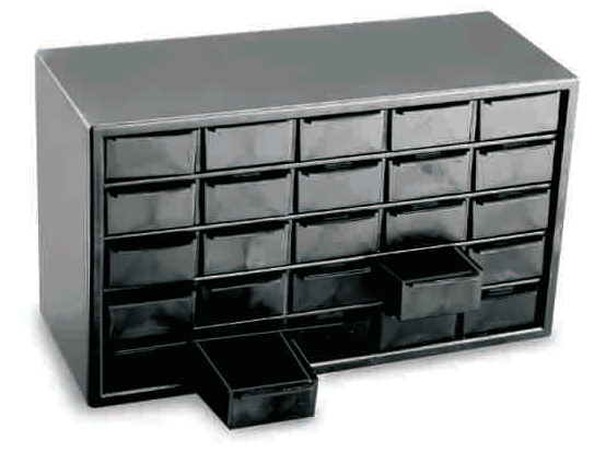 ESD Component Organiser
